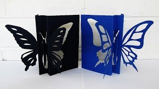 getlinkyoutube.com-Butterfly card - learn how to make this butterfly paper craft from a template - EzyCraft