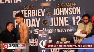 Joshuah Hernandez vs Joe Estrada