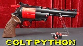 "getlinkyoutube.com-""COLT PYTHON REVOLVER KAL. 44 DART BLASTER"" -THE WALKING DEAD"