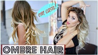 getlinkyoutube.com-Ombre Hair - Escurecendo a Raiz