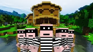 5 Traps To Protect Your House - Minecraft