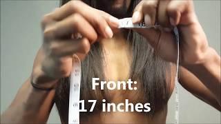 getlinkyoutube.com-Long Natural Hair Length Check 2016