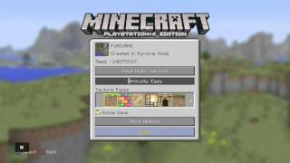 Minecraft Ps4 HEROBRINE Real Proof