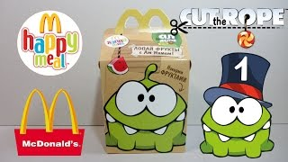 getlinkyoutube.com-Хэппи Мил McDonald's [Cut the Rope] #1