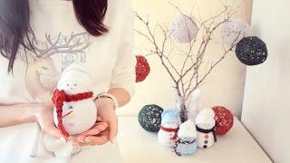 getlinkyoutube.com-Yılbaşı Oda Dekorasyonu | Kendin Yap | DIY Christmas Room Decorations