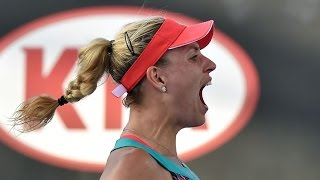 getlinkyoutube.com-Angelique Kerber v Misaki Doi highlights (1R) | Australian Open 2016