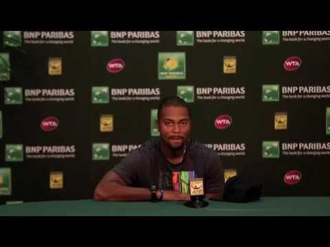 Donald Young First Round Press Conference
