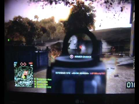 Battlefield: Bad Company 2 Multiplayer Gameplay montage - BMD 972-