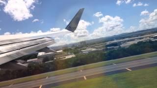 getlinkyoutube.com-San Juan, Puerto Rico - Takeoff from Luis Muñoz Marín International Airport HD (2015)