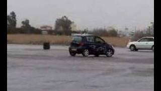 getlinkyoutube.com-Toyota Vitz/Yaris Toyota Windy Drift And Donut