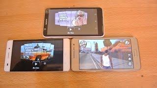 getlinkyoutube.com-Sony Xperia E4 vs Galaxy Grand Prime vs Huawei Honor 4c - GTA San Andreas Gameplay