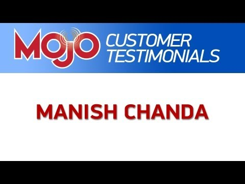 Manish Chanda talks about the Mojo Dialer and Mojo ID