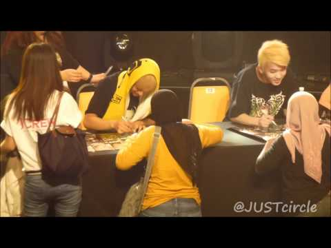 [Fancam] 120607 BAP Fansign - CLEAR all 6 members!!