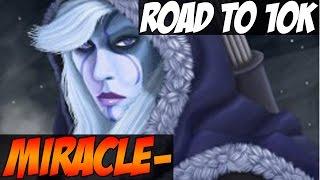 getlinkyoutube.com-Miracle- 9014MMR Plays Drow Ranger ROAD TO 10K - Dota 2