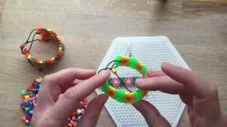 getlinkyoutube.com-How to Make Perler Bead Bracelets
