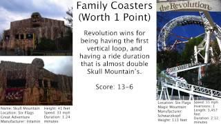 Six Flags Great Adventure vs. Six Flags Magic Mountain