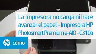 getlinkyoutube.com-La impresora no carga ni hace avanzar el papel - Impresora HP Photosmart Premium e-AIO - C310a