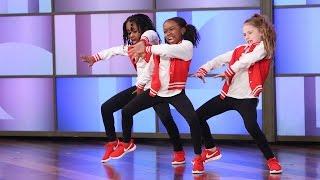 A Terrific Dancing Trio Performs!
