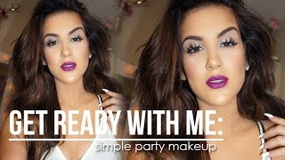 Get Ready With Me: Simple Party Look