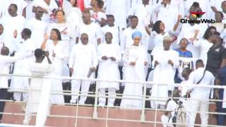 getlinkyoutube.com-Akufo-Addo dances to Ernest Opoku Agyemang's performance @ Thanksgiving Service