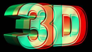 getlinkyoutube.com-HIGH QUALITY!!! 3D VIDEO 3 (red and cyan) Blue Glasses