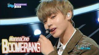 [Comeback Stage] WANNA ONE   BOOMERANG, 워너원   부메랑 Show Music Core 20180331