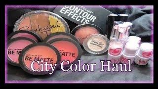 getlinkyoutube.com-Super Affordable Great Quality MakeUp ♥ City Color Cosmetics