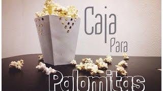 getlinkyoutube.com-D.I.Y Caja Para Palomitas