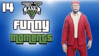 getlinkyoutube.com-GTA 5 Online Funny Moments Ep. 14 (Delirious Christmas, North Yankton Glitch)