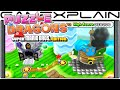 Puzzle & Dragons: Super Mario Bros. Edition - World Map Gameplay Direct Feed - 3DS