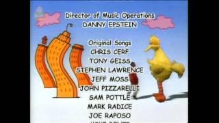 Sesame Street closing credits (short) 1992-2007