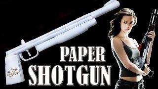 getlinkyoutube.com-How to Make a Paper Shotgun That Shoots - rubber band paper gun