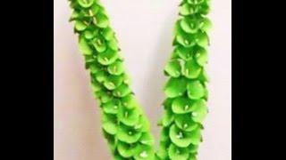 getlinkyoutube.com-Paper Flowers - Bells of Ireland / Shell flower (Flower # 56)