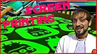 getlinkyoutube.com-#2 Шелкография карусель. Бизнес план. Личный опыт 7 лет Screen Printing #Технологии  #Наука