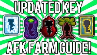 Terraria 1.2: How to get Key Molds! (UPDATED AFK FARM GUIDE) [demize]
