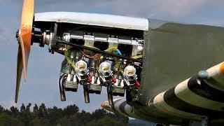 getlinkyoutube.com-Rc Supermarine Spitfire Mk IX - 3Cyl.KOLM