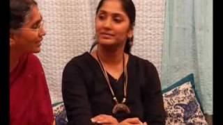 getlinkyoutube.com-Chit Chat with - TV Star - Jhansi - at her Home