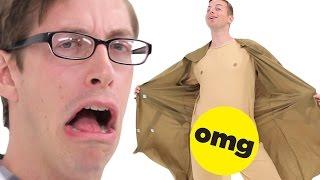getlinkyoutube.com-The Try Guys Try Perverted Halloween Costumes