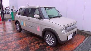 getlinkyoutube.com-2015 スズキ ラパン X 4WD 内外装
