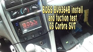 getlinkyoutube.com-BOSS BV9364B install & test 2003 Mustang Cobra SVT
