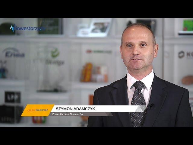 Alumetal SA, Szymon Adamczyk - Prezes Zarządu, #50 PREZENTACJE WYNIKÓW