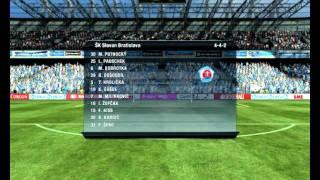 getlinkyoutube.com-Sk Slovan Bratislava   Msk Zilina FIFA 11