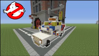 getlinkyoutube.com-Minecraft Tutorial: How To Make Ecto-1 (Ghost Busters)