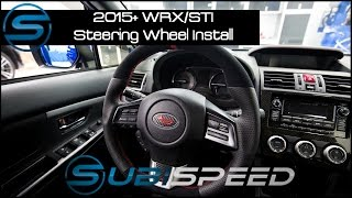 getlinkyoutube.com-Subispeed - 2015 WRX/STI Steering Wheel Install