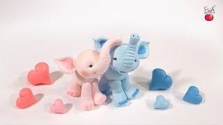 getlinkyoutube.com-ELEPHANT polymer clay tutorial. Jak ulepic SŁONIKA z modeliny. LET'S CLAY!