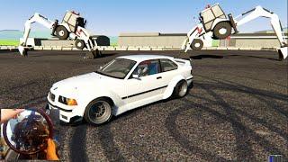 getlinkyoutube.com-Assetto Corsa GoPro Track Attack MODS - 680hp BMW E36 Rocket Bunny
