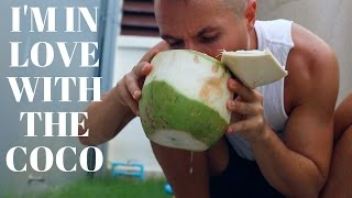 getlinkyoutube.com-The Coconut-Only Diet // Q&A Mukbang