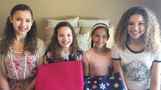 getlinkyoutube.com-Tie Quilt!  Fun DIY Craft (Haschak Sisters)