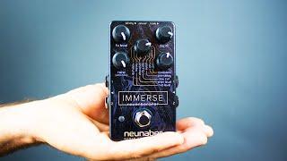 getlinkyoutube.com-Ambient Guitar Gear Review - Neunaber Immerse Reverberator (Stereo Reverb)