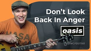 getlinkyoutube.com-How to play Don't Look Back In Anger by Oasis (Rock Guitar Lesson SB-312)